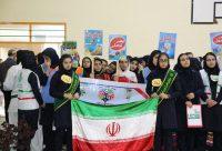 آئین افتتاحیه پنجمین المپیاد درون مدرسه ای چابکسر استان گیلان به روایت تصویر